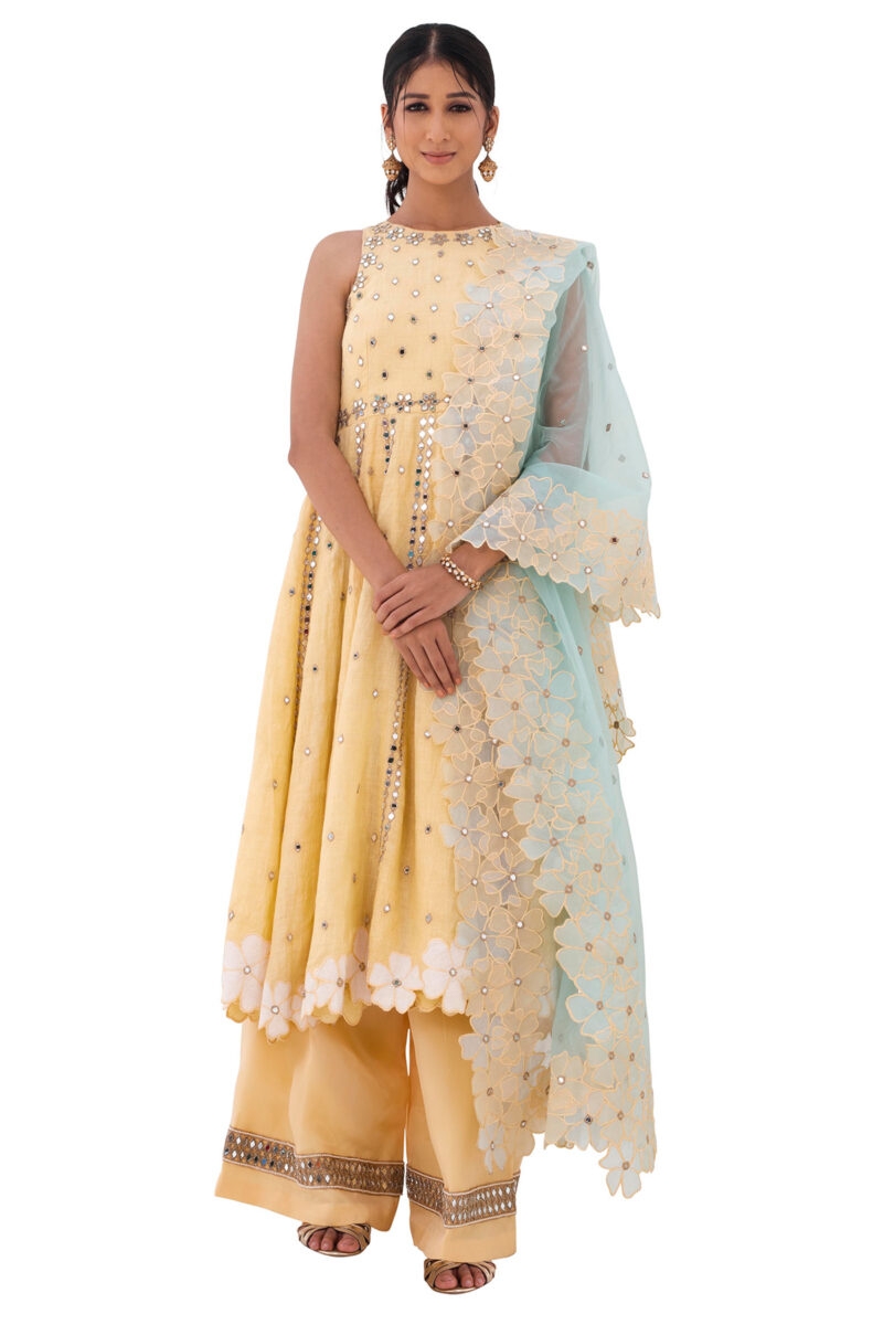 Buy Indo western gown for engagement